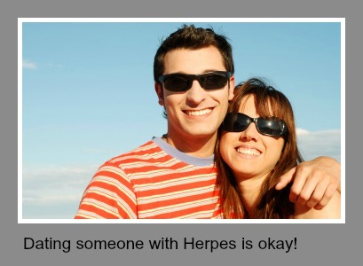 Dating person with herpes
